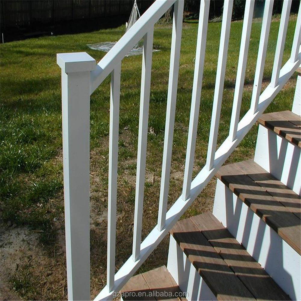Aluminum balcony railing for glass china suppliers