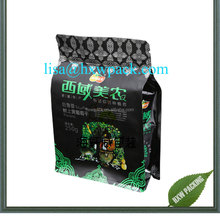 aluminum foil kraft paper bag for beef granules jerky plastic packing bag/stand up pouch for beef jerky