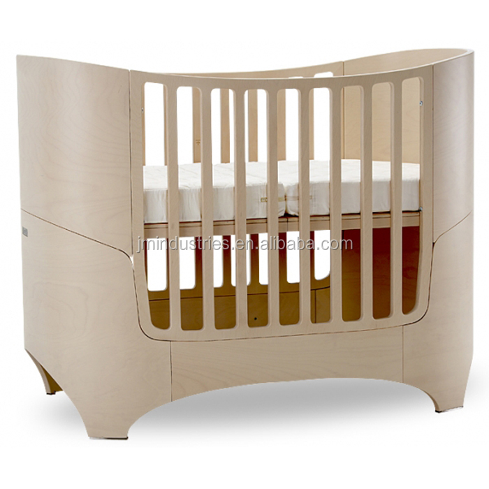 Wholesale Multifunction Solid Wood Designer Baby Convertible Crib Baby Cot Bed