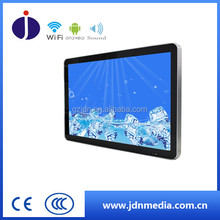 Factory price led tv display advertising indoor 43 inch wall mounted android 4.4 tablet