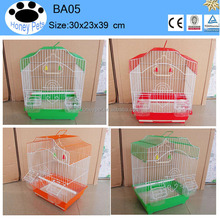 wholesale Green color metal foldable pet supplies bird cage
