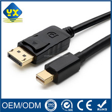Gold Plated Mini DisplayPort to DisplayPort Cable 10 Feet Mini DP to DP Thunderbolt 2 Port Compatible 4K Resolution Ready