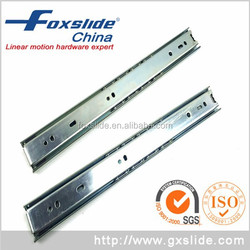 New 3 Fold Ball Bearing Drawer Runners 200mm Telescopic Metal Slides Rail