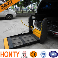 vertical power wheelchair platform lift for van
