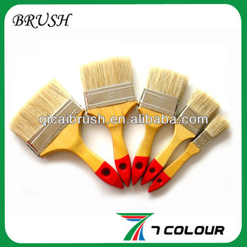 Wooden handle painting brush