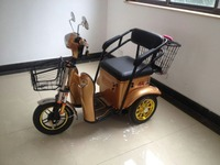 NEW electric tricycle with one seat for leisure