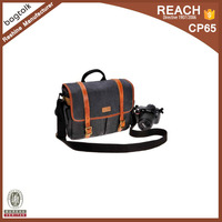 Vintage Removable Padded Men canvas Camera Bag Trval Camera Bag for DSLR Camera and Lens