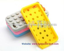 Building Block Brick Silicone Case for iPhone 5