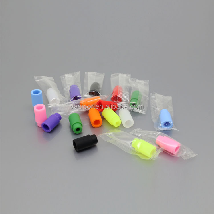 510 disposable drip tip test mouthpiece silicone tester drip tip