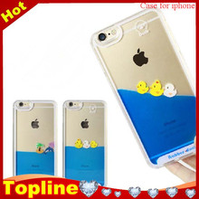 Lovely duck 3D yellow rubber yellow duck cell phone case for iphone 6