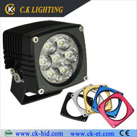 led roof light 12v for car excavator work lamp