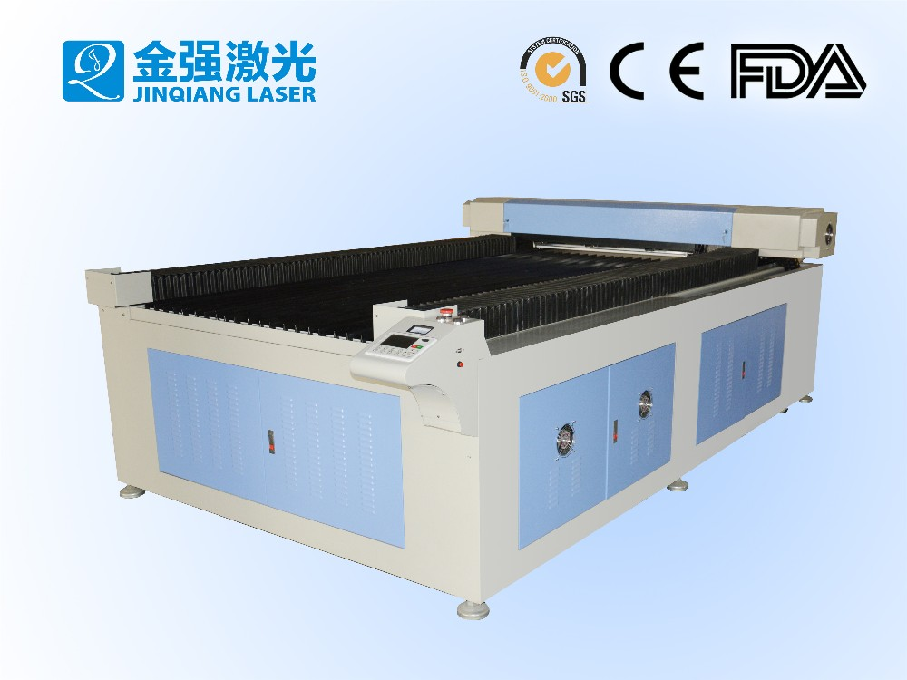 CE/FDA certificated widely used JQ1325 100w laser engraving machine / Good after service co2 laser cutting machine