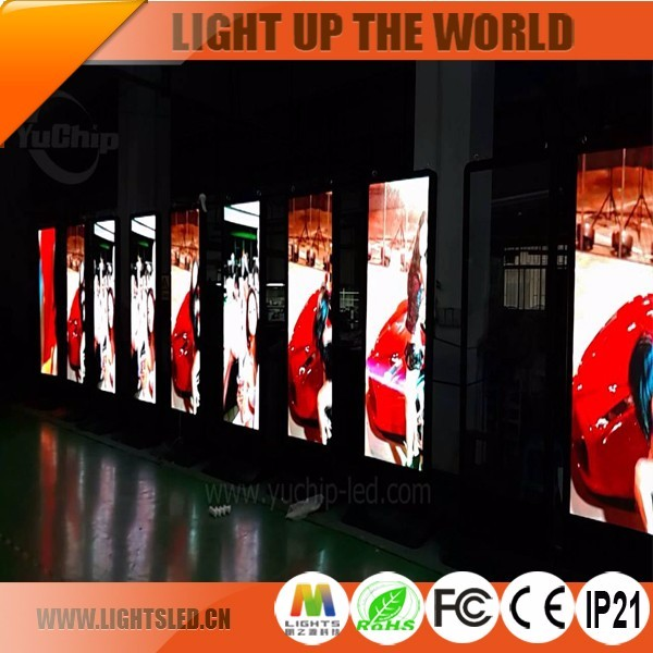 HD P6 42 52 85 inch customized floor Standing full color rotate Digital LED display Advertising Screen