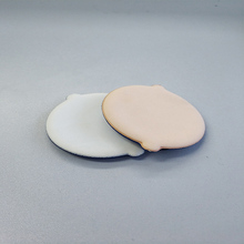 0.4mm to 0.5mm Eco Friendly Waterborne Split PU Leather for Cosmetic Makeup Powder Puff