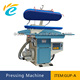 Commercial laundry ironing press machine