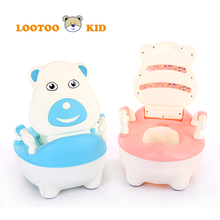 Alibaba china factory hot selling cheap price educational cartoon toy plastic kids toilet seat