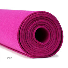 New design needle felt with CE certificate 100% Polyester Hard and Thick Needle Punched Felts polyester felt