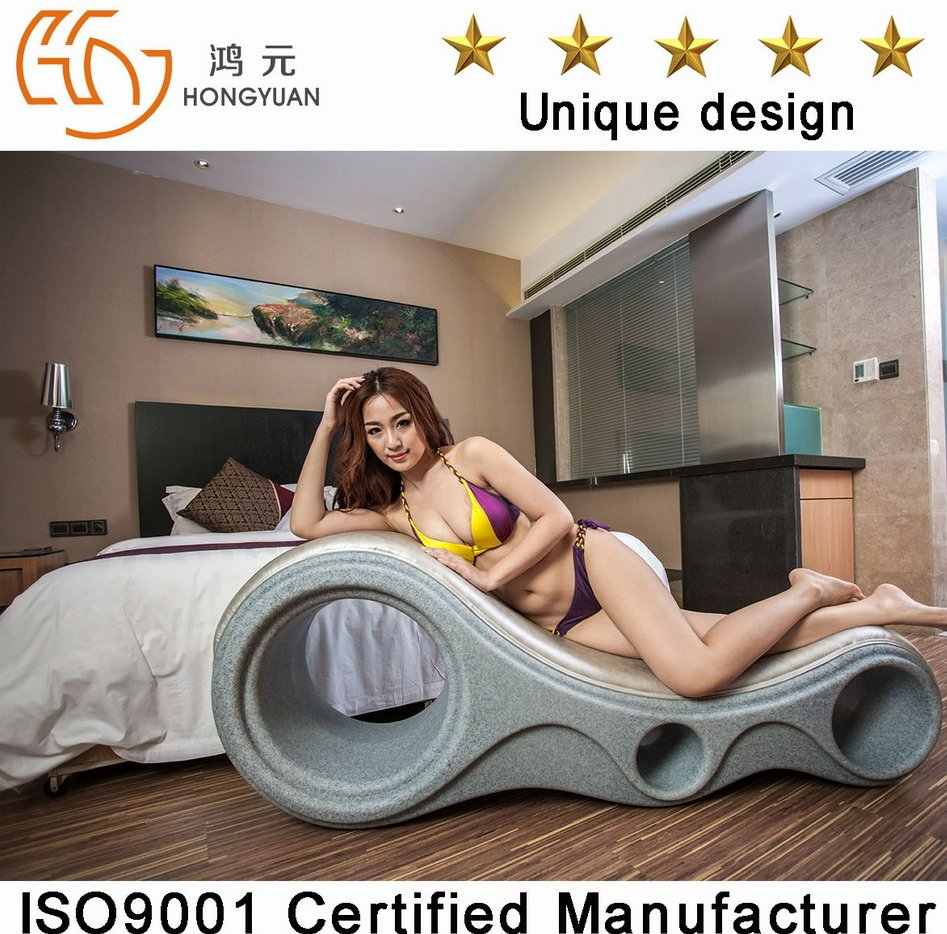 2016 New design hotel furniture sex sofa chair elegant leather sex sofa chair