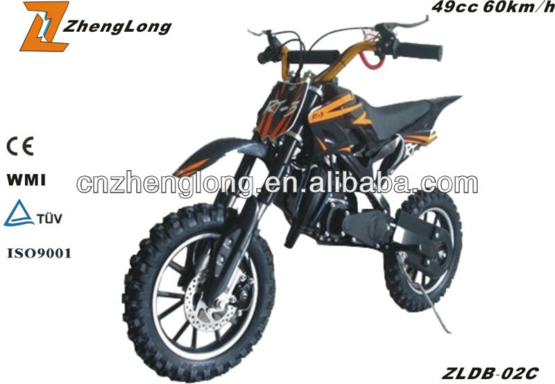 The CE certification brand new dirt bike