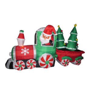 christmas decoration santa carriage wholesale carriages suppliers alibaba - Santa Train Outdoor Christmas Decoration