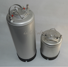 Stainless Steel 304 Ball Lock Cornelius style Beer Keg - 19 Litre/5Gallon, Lid with Pressure Relief Valve, New, Homebrewing