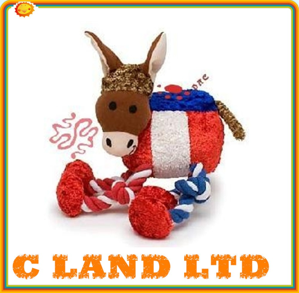 Pet Cartoon Animal Rope Toy Dog Chew Toys Plush Toys Wholesale Pets Supplies