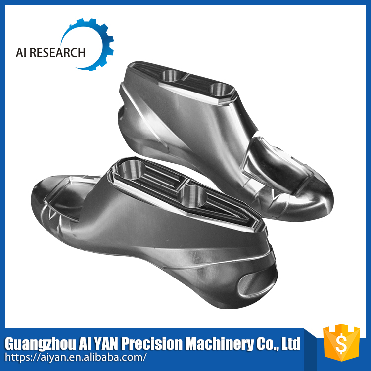 5-Axis machining center production high heel shoe mold