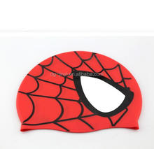 Waterproof swimming cap custom print batman swimming cap