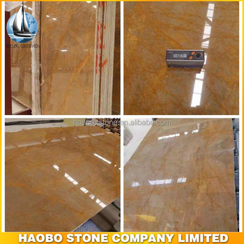 Golden Travertine Marble Floor Tiles and Slabs