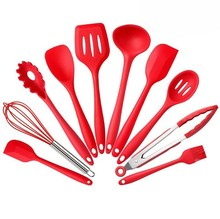 Heat-Resistant Non-Stick Cooking Baking Silicone Kitchen Utensil Set