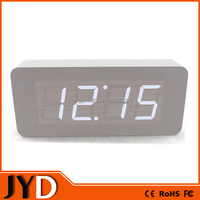 JYD- RWL002 China Supplier Wooden Table Clock Home Decoration