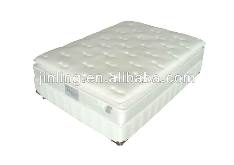 Bonnell spring mattress with soft foam in filling