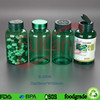 200ml Food Grade Green PET Plastic Pill Bottles Making Factory