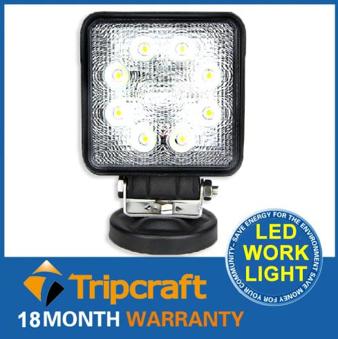 China manufacturer 24W off road led working light quality and affordable 4x4 light led work light