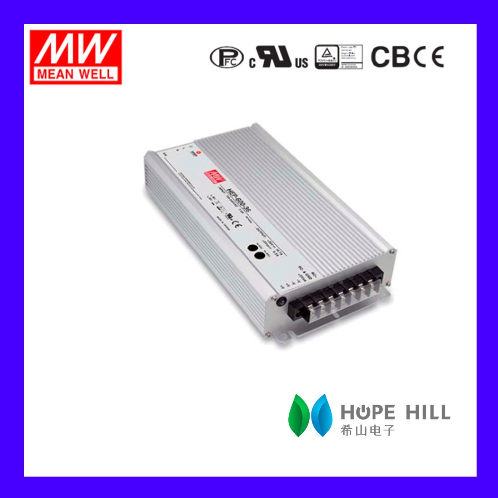 Original MEAN WELL HEP-600-30 MODEL Single output LED Driver