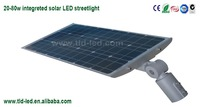 Newest in season integreted led solar street light 20w-80w