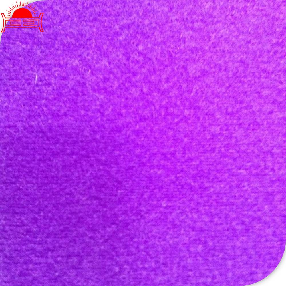 100% nylon brushed knit tricot fabric wholesale for custom sneakers