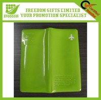 Promotional OEM Logo Printed PVC Passport Bag
