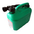plastic oil jerry cans with tube HDPE safety petrol jerry cans