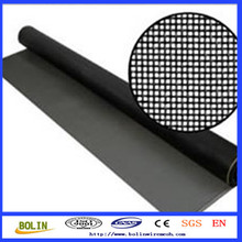 Black Wire Iron Wire Cloth / Epoxy Coated Wire Mesh(10 years professional factory)