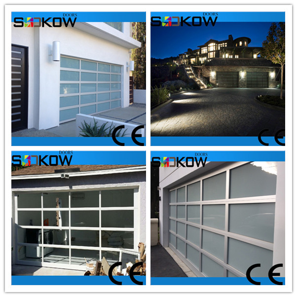 Sectional garage door automatic garage door garage door for Sectional glass garage door