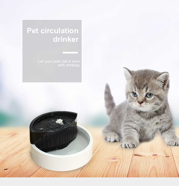 Tianyuan pet dog/cat water feeder,pet automatic water dispenser,dog fountain water bowl