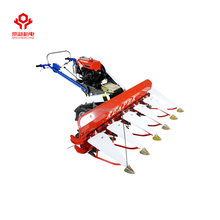 1500mm Gasoline mini paddy rice and wheat cutting machine rice cutter wheat reaper