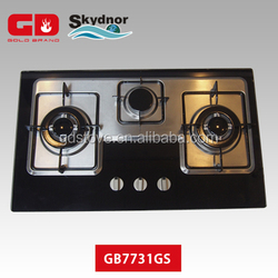 kitchen appliance gas stove cookware 3 Burner gas stove parts