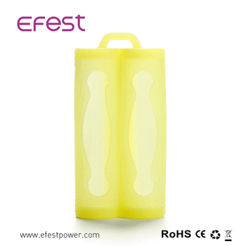 Efest 2*18650 Lithium Battery Silicone Case Colorful 18650 Silicone Case