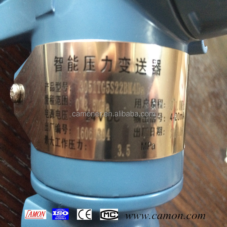 china smart digital 3051 4-20ma capacitive pressure transmitter with cheap price