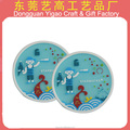 Factory personalize silicone rubber cup mat