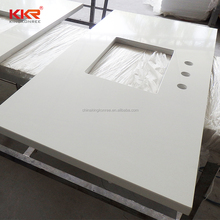 made in china engineered quartz stone bathroom benchtops