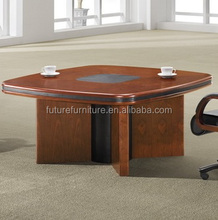2016 UK Market Wooden Traditional Style Walnut Meeting Table