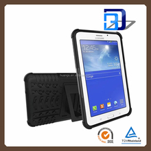 2016 New PC+TPU Hybrid Armor Case with Slim Stand for samsung galaxy tab 3 lite 7.0 t110 / t111 tablet cover factory price